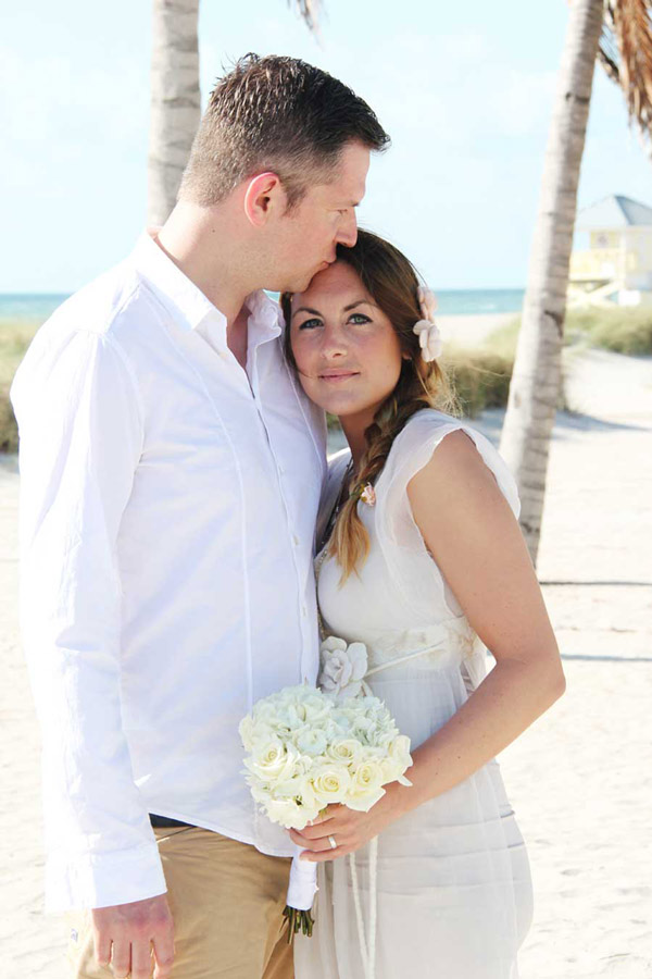 Intimate Miami Beach Wedding